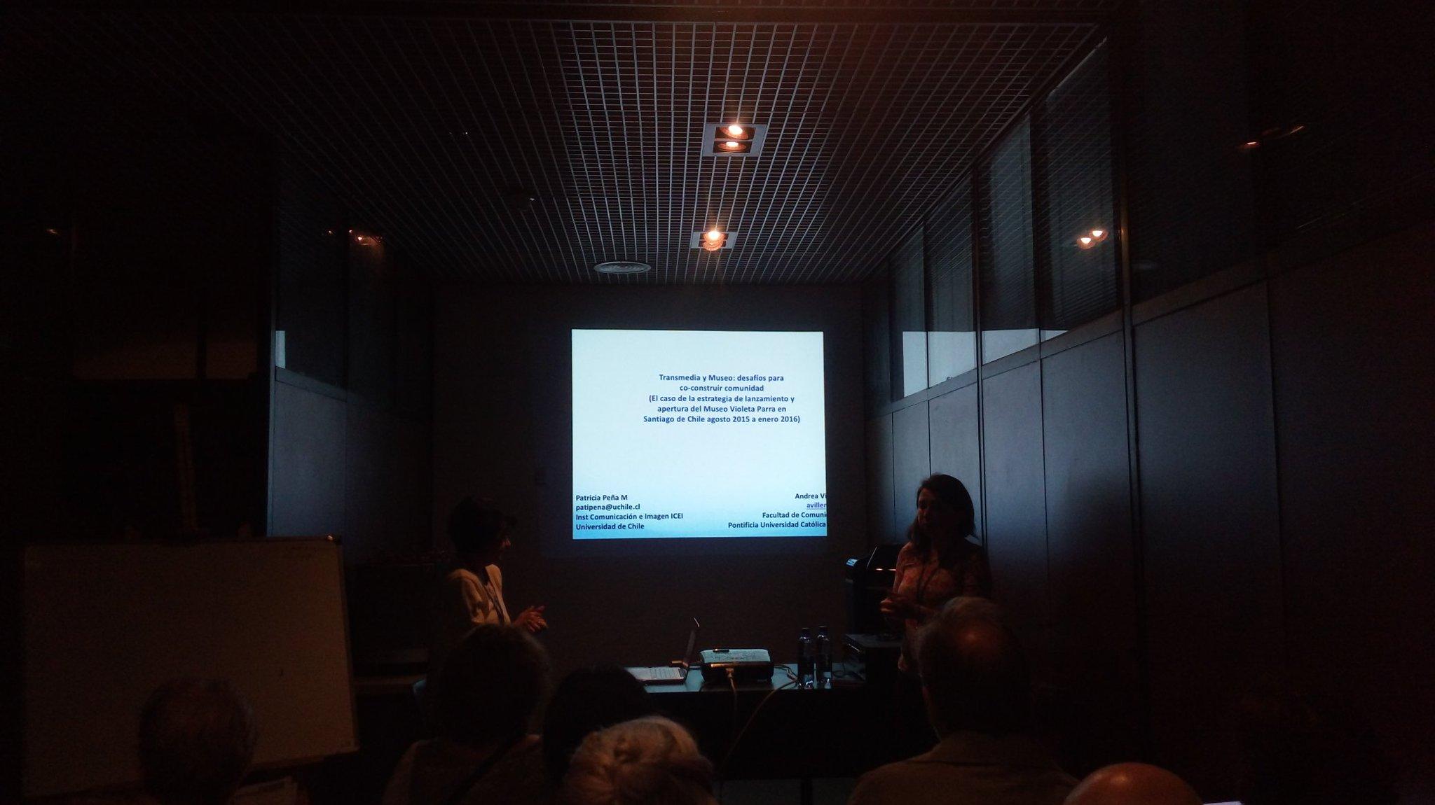 Transmedia y Museo. Patricia Peña, @patana  y Andrea Villena en #CongresoAAHD https://t.co/LCknDxaOA4
