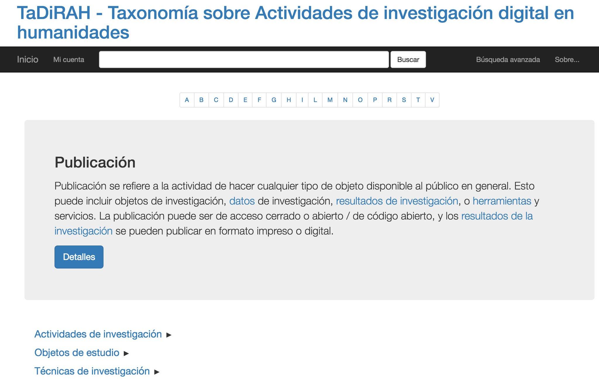 Diego Ferreyra presenta TaDiRAH Taxonomía sobre Actividades de investigación digital en humanidades #congresoAAHD https://t.co/4cu31urcpo https://t.co/xNXF92XN4t