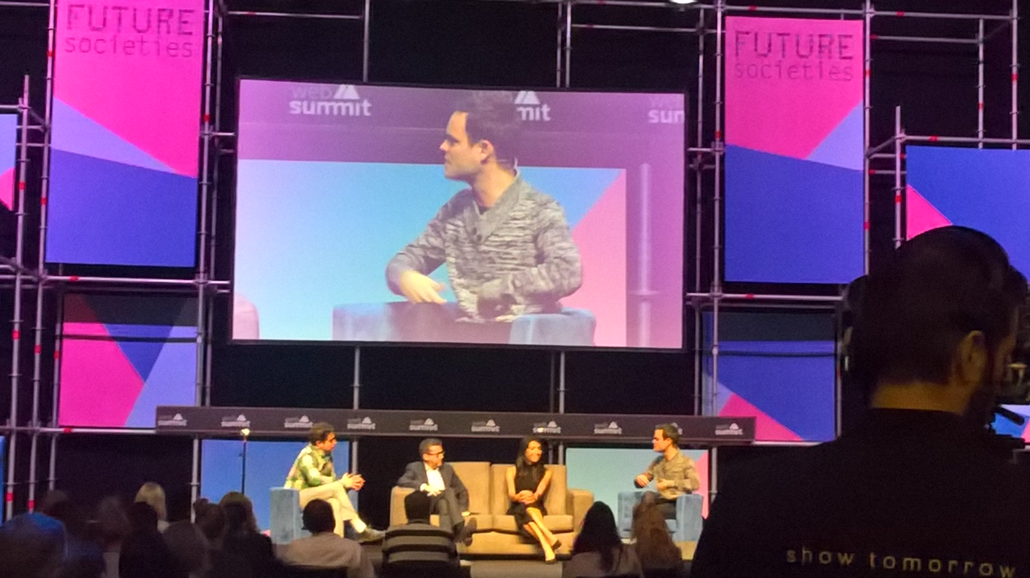 Mathieu Nebra of @OpenClassrooms on stage #websummit2016 #futuresocieties #frenchtech https://t.co/hHE5RiBkoQ