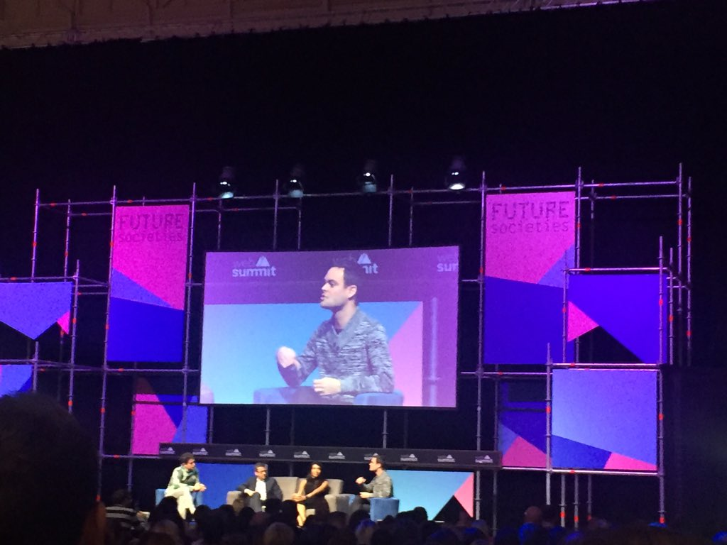 Today's #entrepreneurs interested in creating an #impact, not just money. #WebSummit #futuresocieties https://t.co/le9VOtT72m