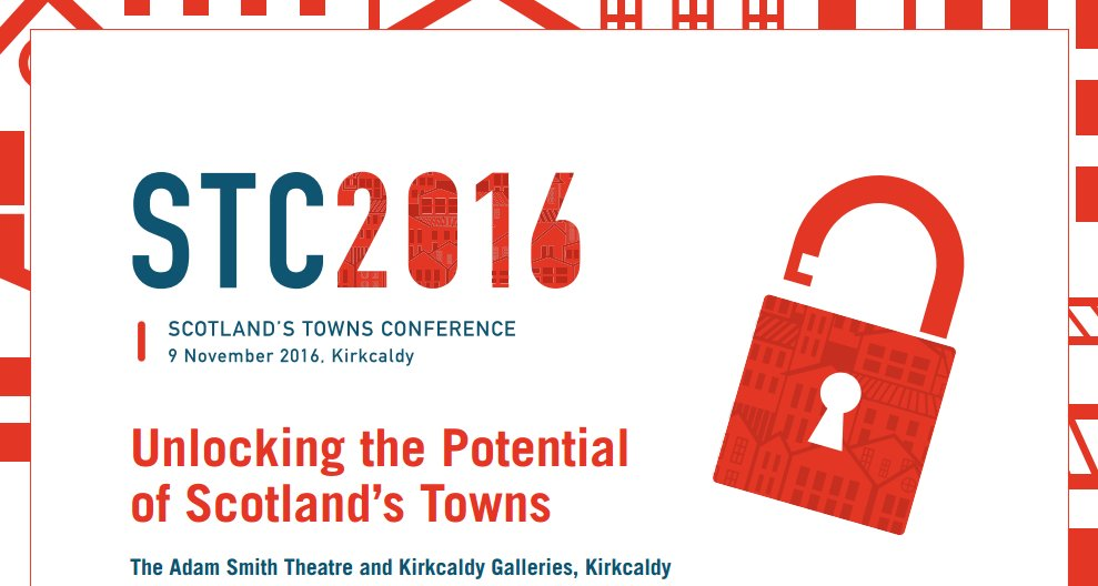 Almost time for Scotland's Towns Conference - looking forward to welcoming everyone to #Kirkcaldy! #STC16 https://t.co/53WHPdi8d6 https://t.co/YioA1NKAaO