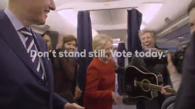 Don't stand still. Vote today: https://t.co/jfd3CXLD1s #ElectionDay #MannequinChallenge
