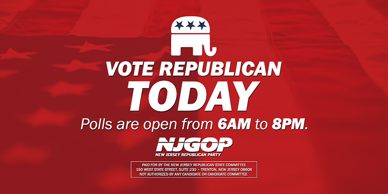 Polls have been open for just over an hour. Make sure you make your voice count and vote Republican! https://t.co/CrZkGuft7X