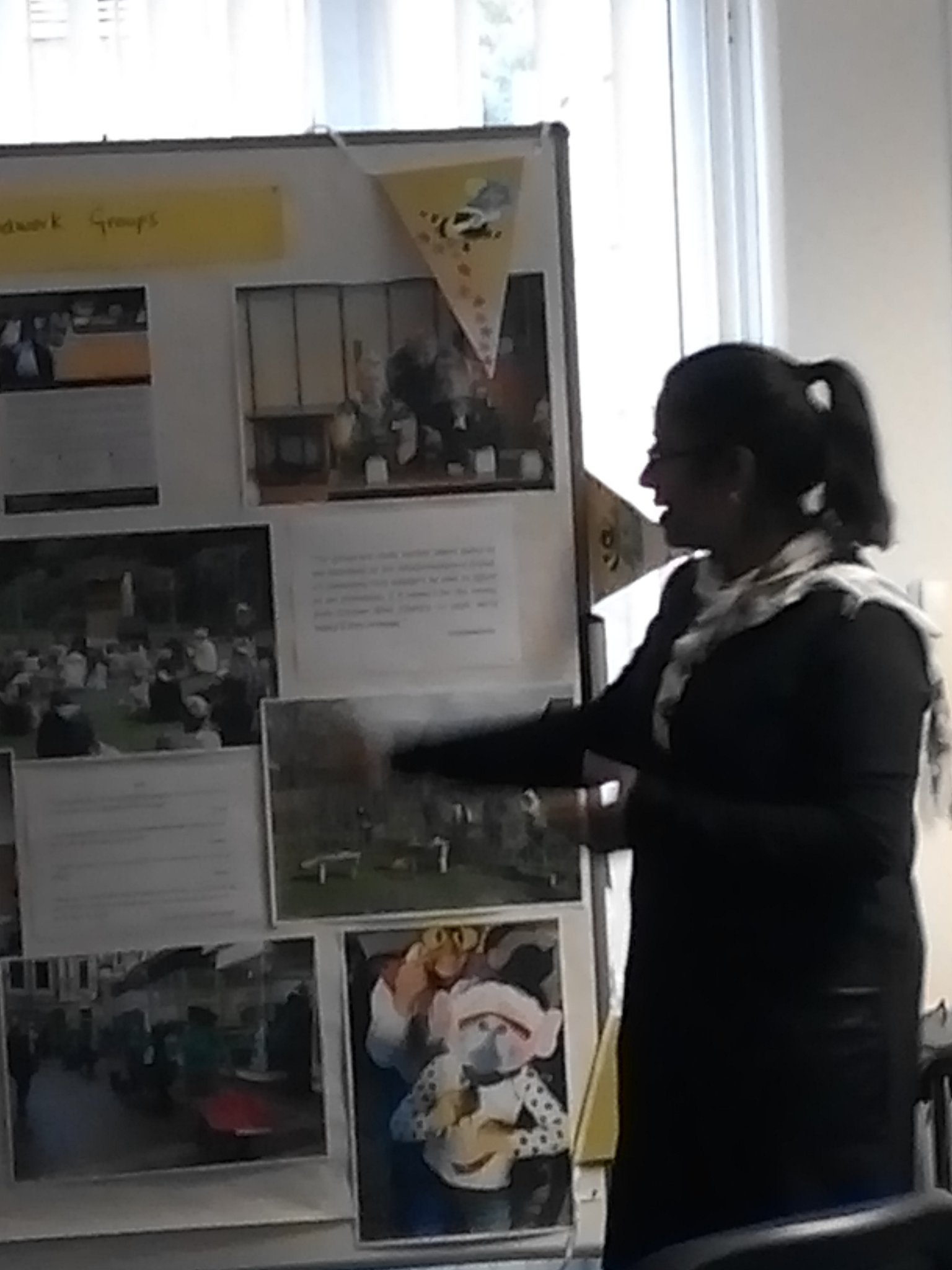 Sajida introducing #groundworkgroups  @WolvesVSC #ourplace event https://t.co/Q6eq4vhS8q