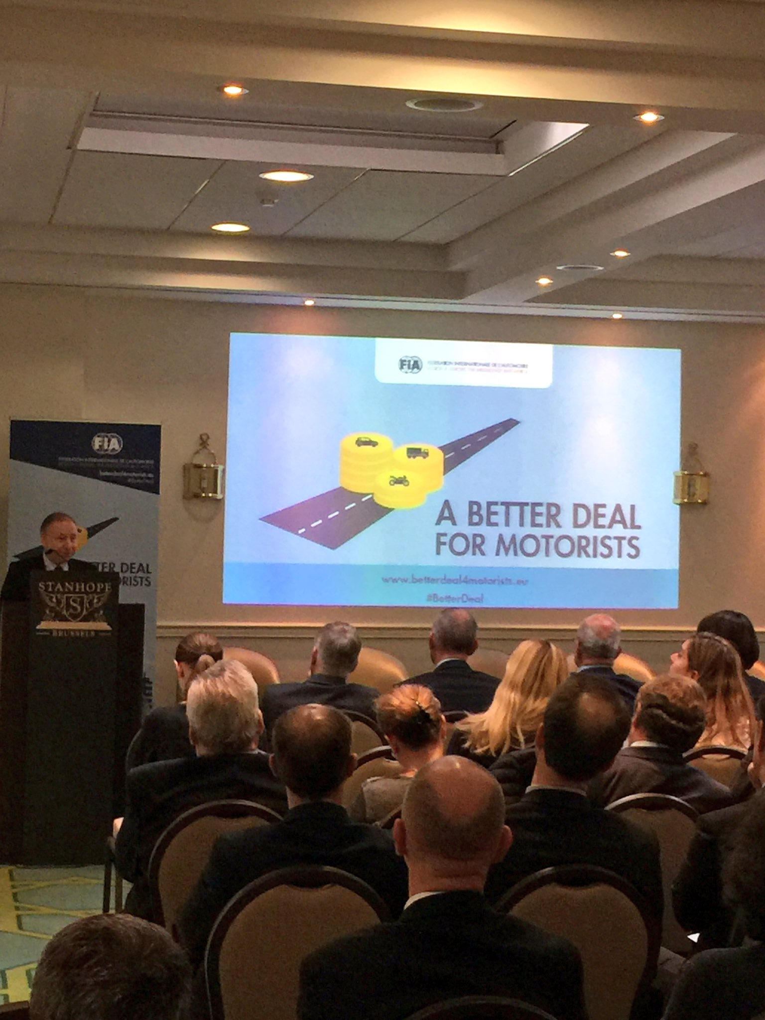 """We all need to work together to improve road users' lives"" @fia #BetterDeal https://t.co/L9UCwwaO7F"