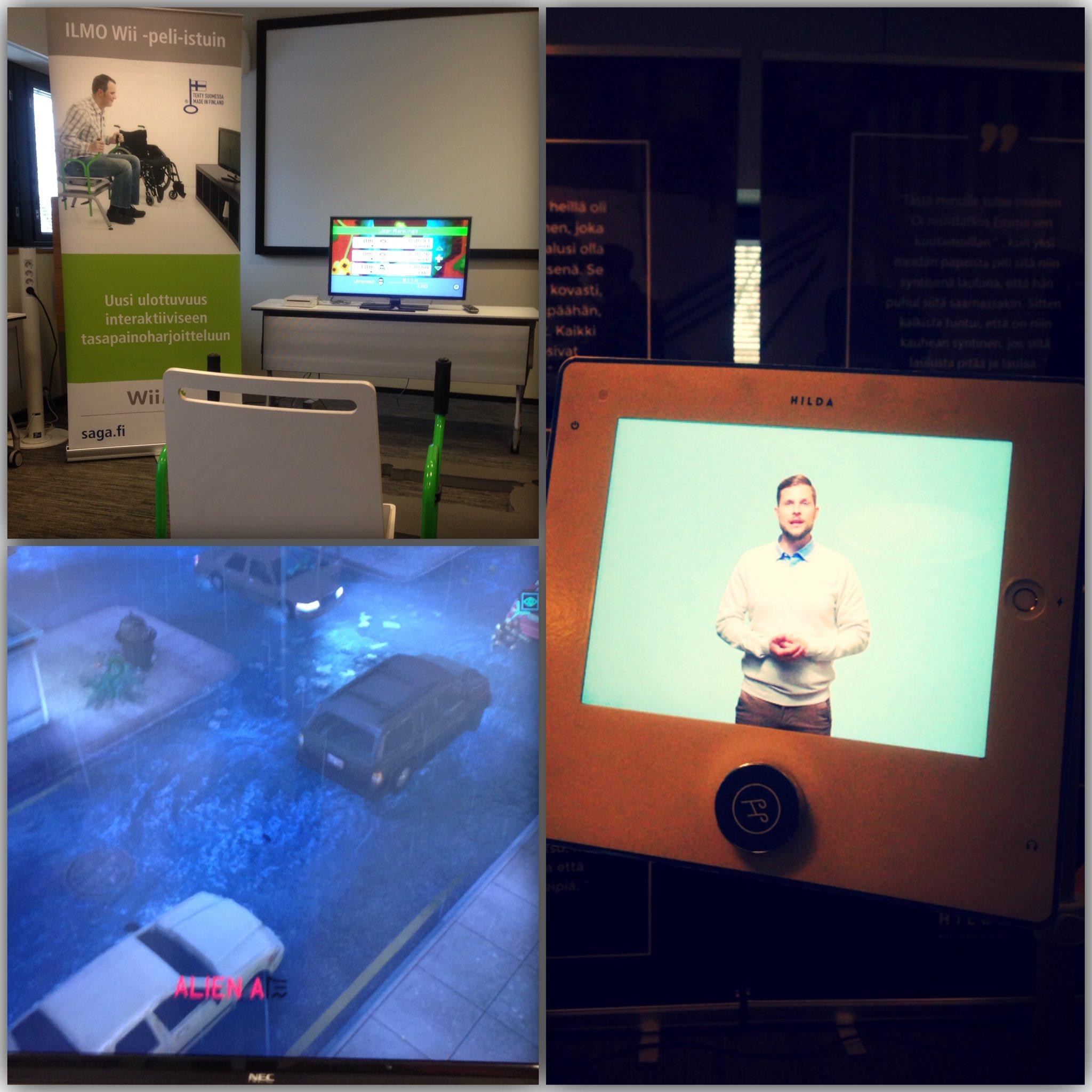 Kyllä oli upea seminaari, kiitos järjestäjille! 👏🏻 Opiskelija oppi jälleen paljon uutta! #LähiVerkko #kaikkipelaa #geronomi #teknologia https://t.co/aRjd6CQgrX
