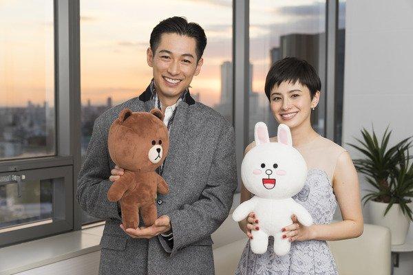 ディーン・フジオカさんとホラン千秋さん