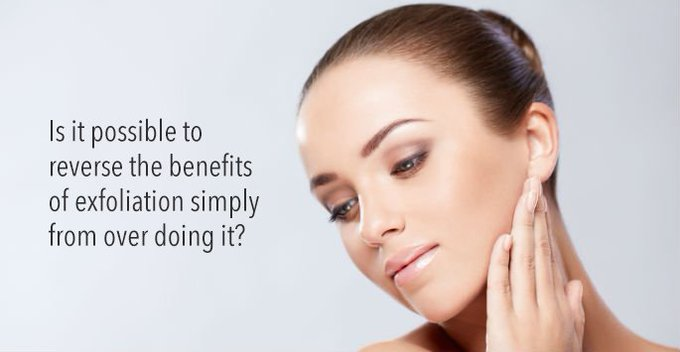 A question to ponder! skincare exfoliation microdermabrasion