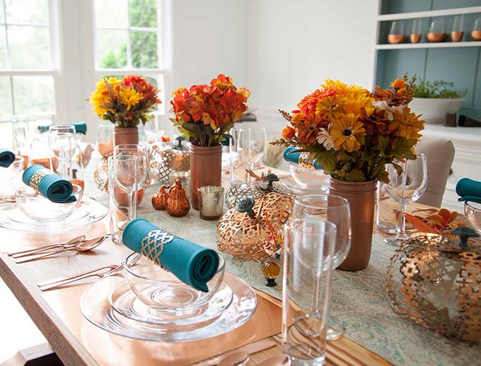 3 Craft Ideas for Your Thanksgiving Tablescape DIY homedecor house