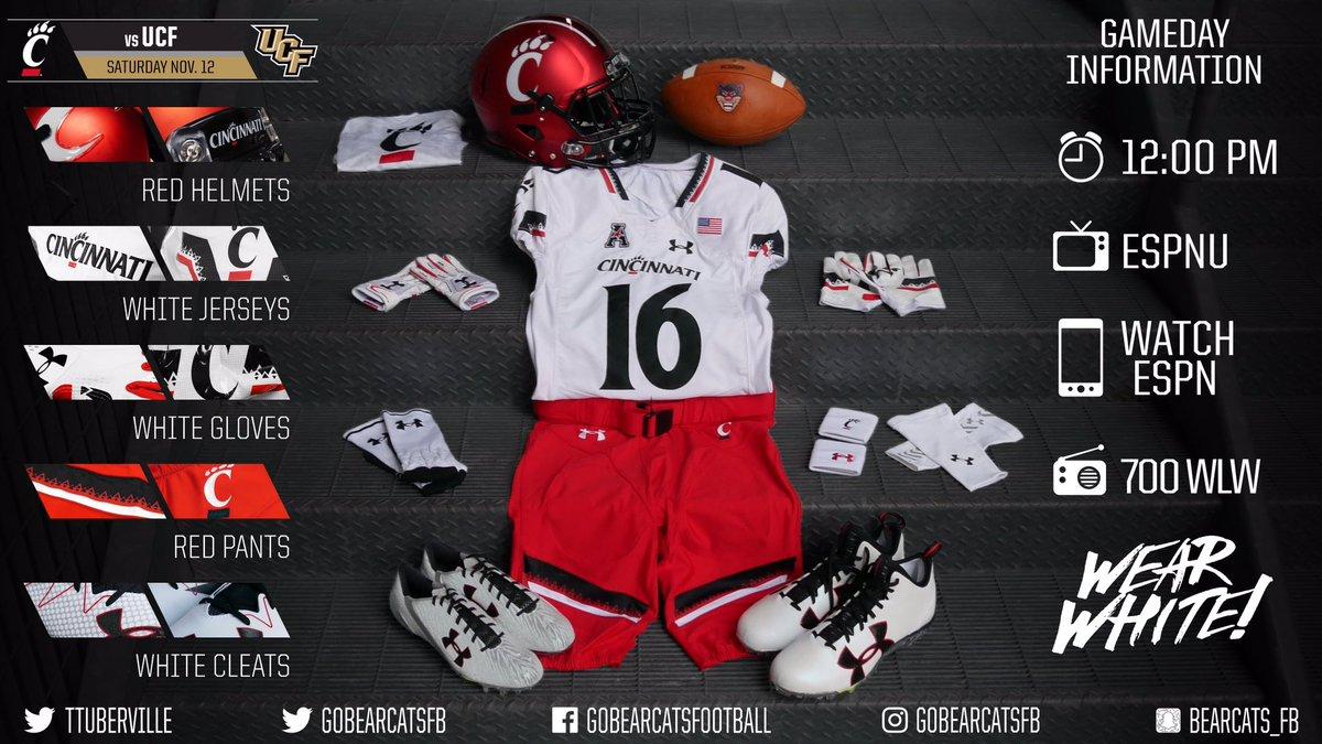 size 40 e1bfc 3fcb2 Cincinnati Football on Twitter: