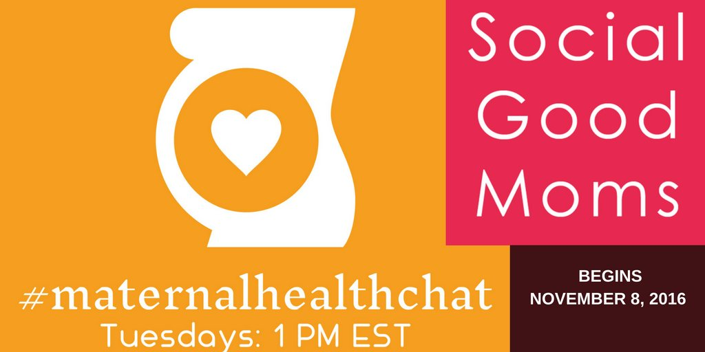 Thumbnail for #MaternalHealthChat - November 8, 2016