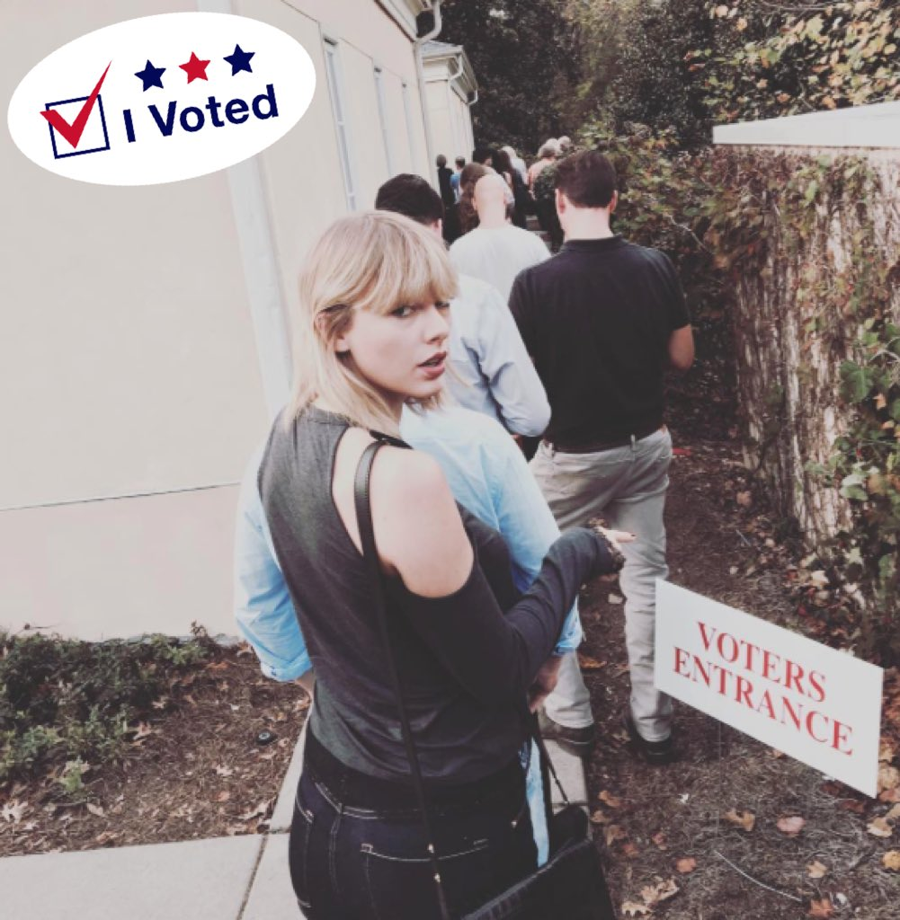 Thumbnail for Celebrities head to the polls for election day