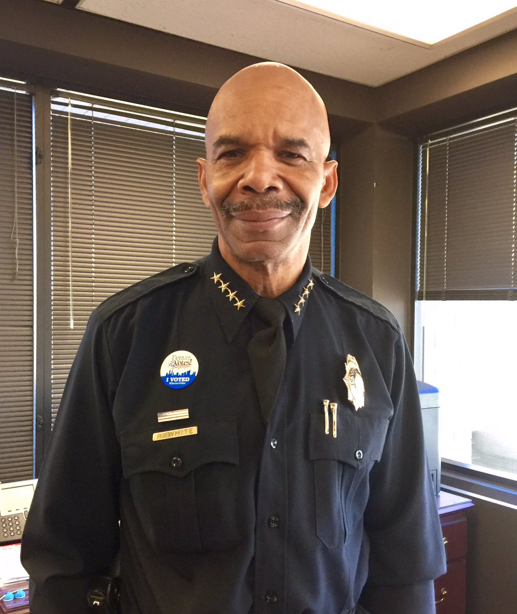 """Denver Police Dept. On Twitter: """"This Is #DPD Chief White"""
