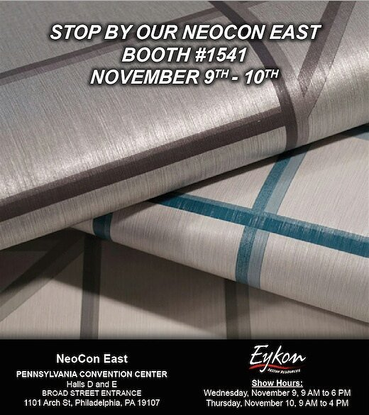 TOMORROW • 2016 NeoCon East • Stop by our booth #1541 #neoconeast #neoconeast2016 #wallcov…  http:// ift.tt/2fXXwTi  &nbsp;  <br>http://pic.twitter.com/IH4hJ6tEk7