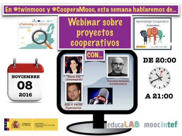 #DirectoINTEF sobre proyectos cooperativos Esperamos vuestras preguntas y opiniones > #twinmooc #CooperaMooc y chat https://t.co/KY4XfirHw4 https://t.co/VnRWFIWwRz