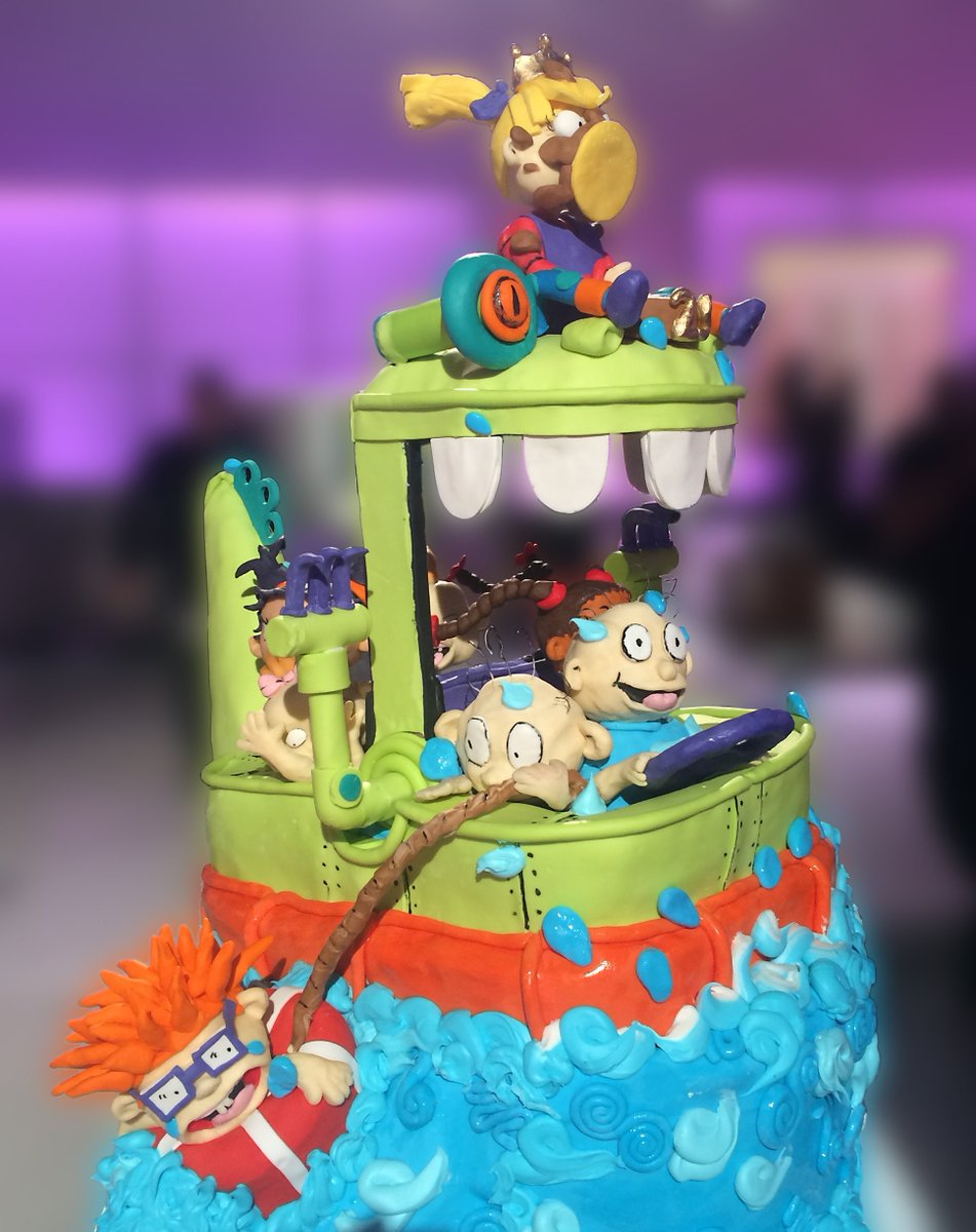 Akiko White On Twitter This Is Our Amazing Rugrats Cake Design