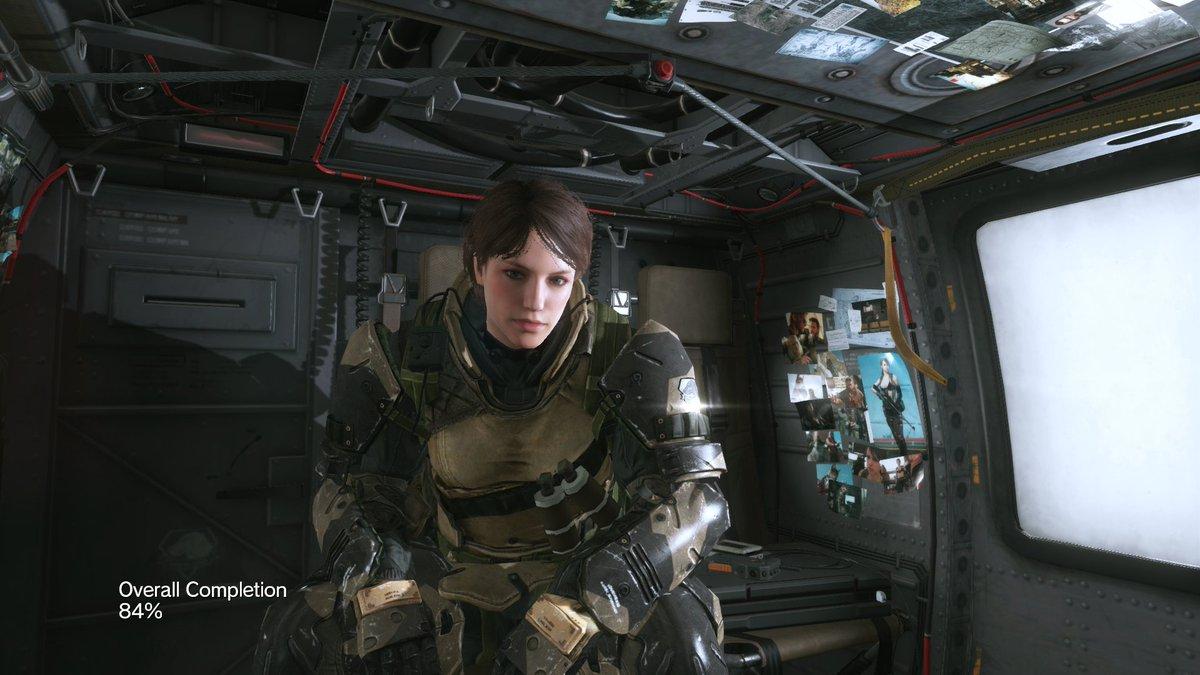 ? in battle suit