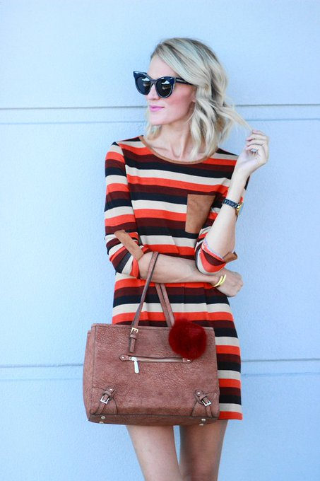 New post! {Easy Fall Dress} fashionblogger shein OOTD