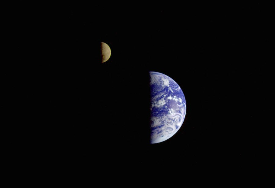 "NASA Solar System on Twitter: ""Sometimes perspective helps ..."