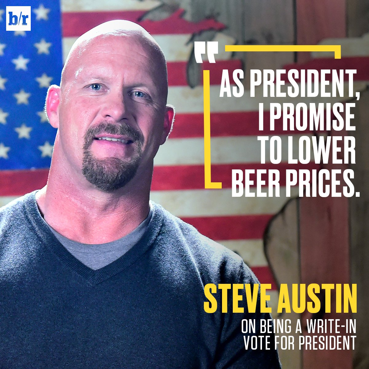 .@steveaustinBSR is giving you another option on #ElectionNight