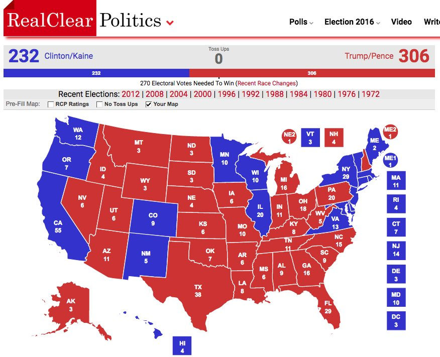 Electoral Map on