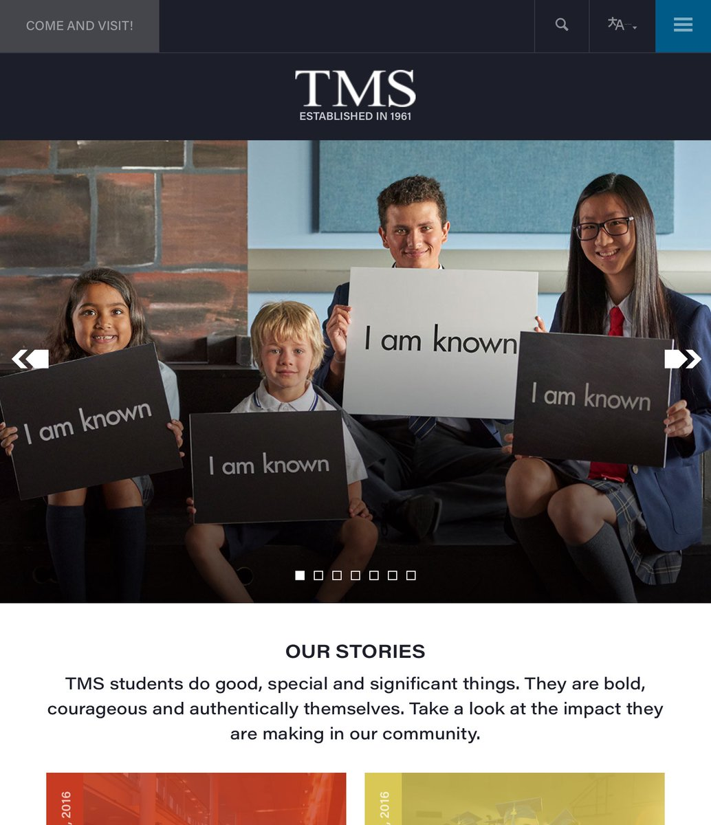 Tms School On Twitter Check Out Our Newly Designed Website At