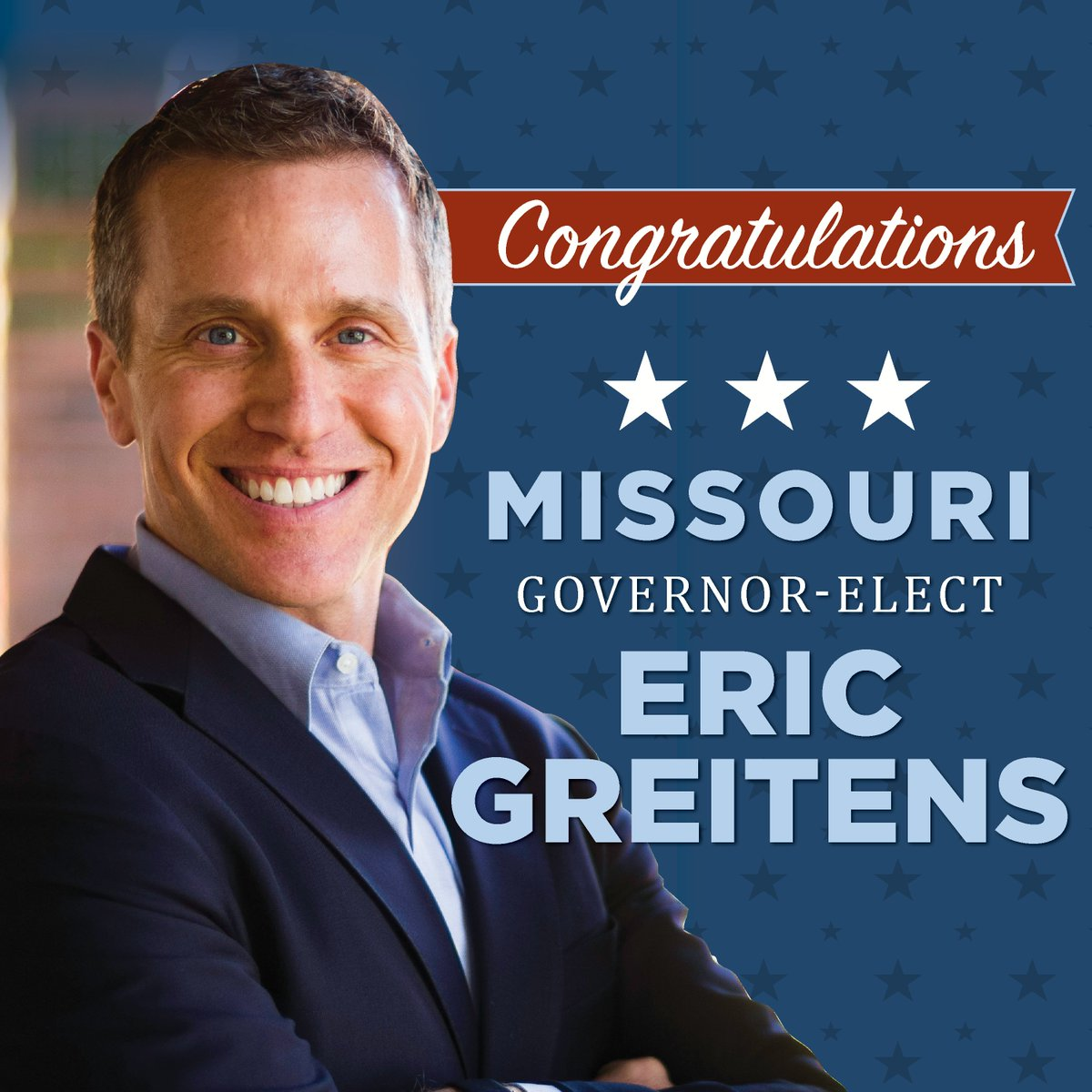 Congratulations to Governor-Elect @EricGreitens On His Victory In Missouri! https://t.co/c6KH8dUUQV #MOGOV https://t.co/7o4mKAC9T2