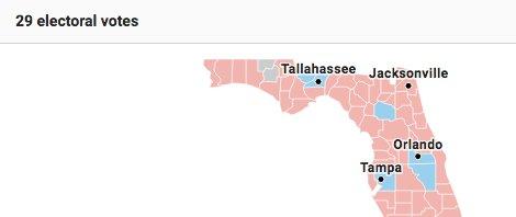 Gun-shaped state holds nation hostage. #Florida
