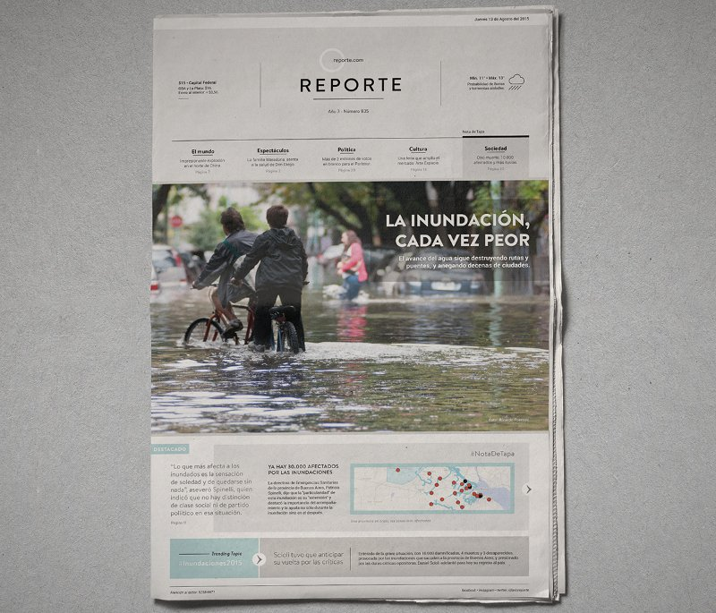 Template On Twitter 21 Printable Modern Newspaper Layouts