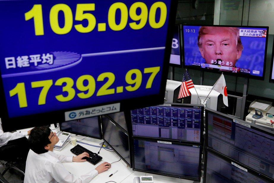 Bourse de Tokyo: le Nikkei chute de 2,23% face à une course américaine serrée https://t.co/YIBam0lZne https://t.co/WO10D9kZTx