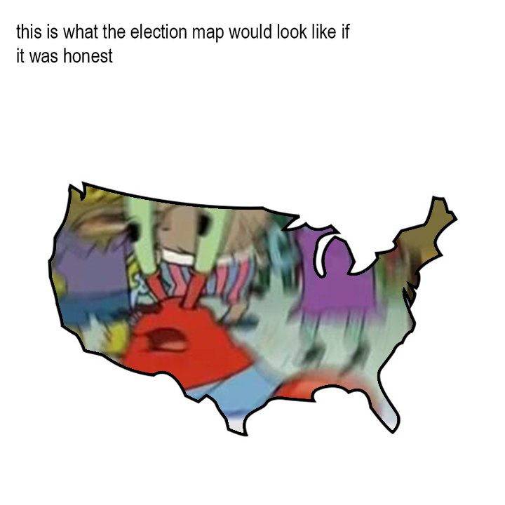 live update of the electoral map