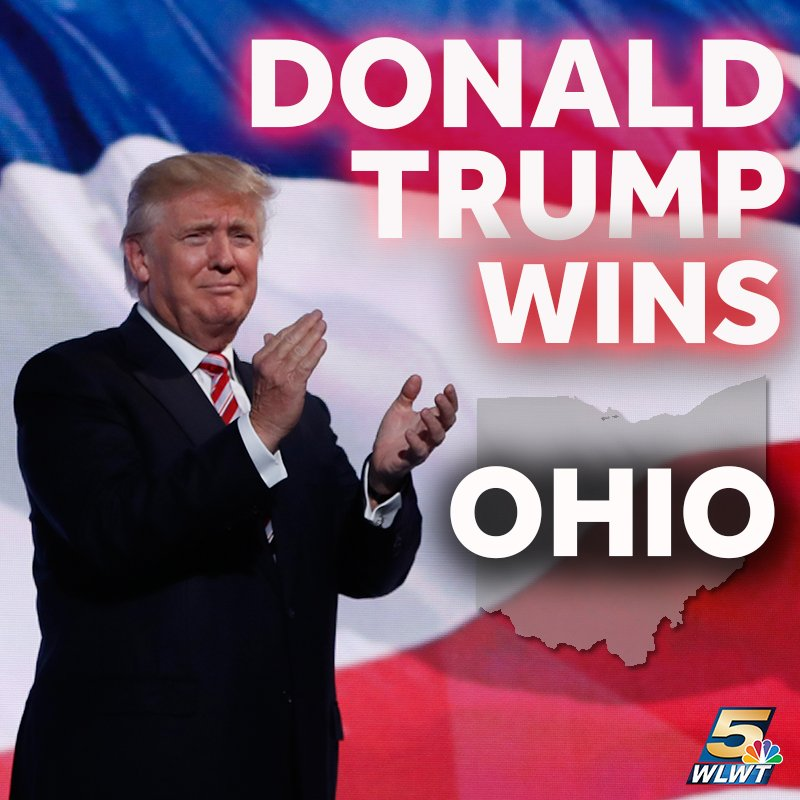 NBC: Trump takes Ohio. #Election2016 >> https://t.co/yFB7SsCoV3