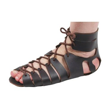 372c53f35b0a  leatherwork on  roman  sandals  DIY - make yourself  children or  adult   Roman  sandal - great for  re-enactment ...