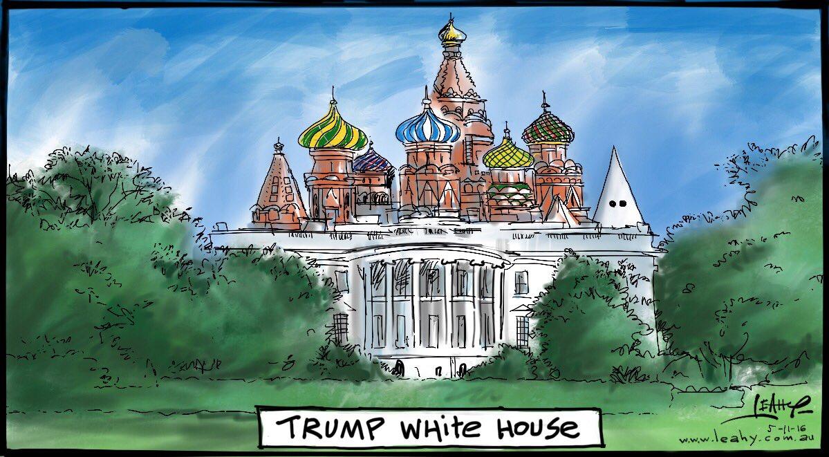 карикатуристи Тръмп