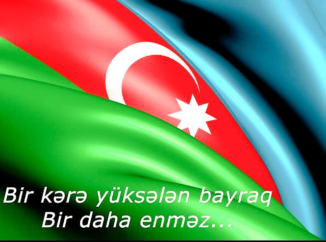 Bu gün Azərbaycanda Dövlət Bayrağı günüdür.