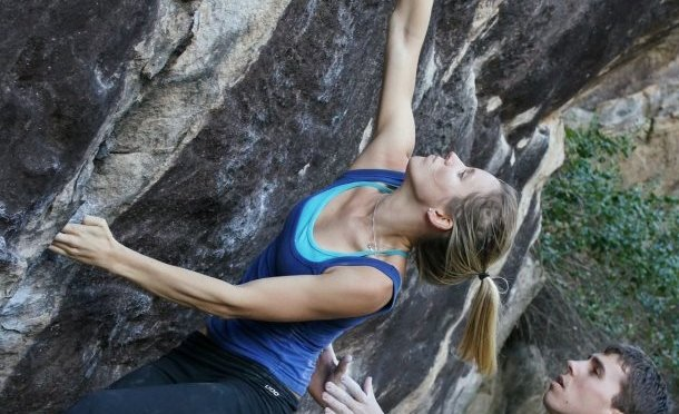 Rock climber Ashlee Hendy is a former junior national champion and now coaches and encourages others in the sport #DeakinWISE #WomenInSport https://t.co/QAG0ugRmSV