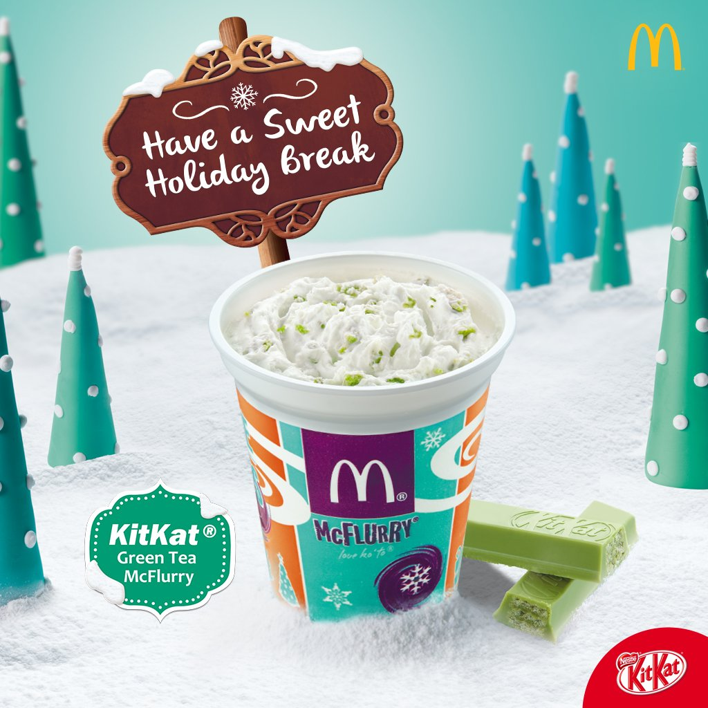 Mcdo Philippines On Twitter Try A Kitkat Green Tea Mcflurry Today 1000 Pm 8 Nov 2016