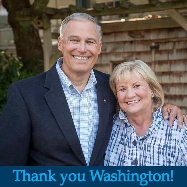 Thank you Washington. It's an honor to serve as your governor. https://t.co/z8SXJjknB9