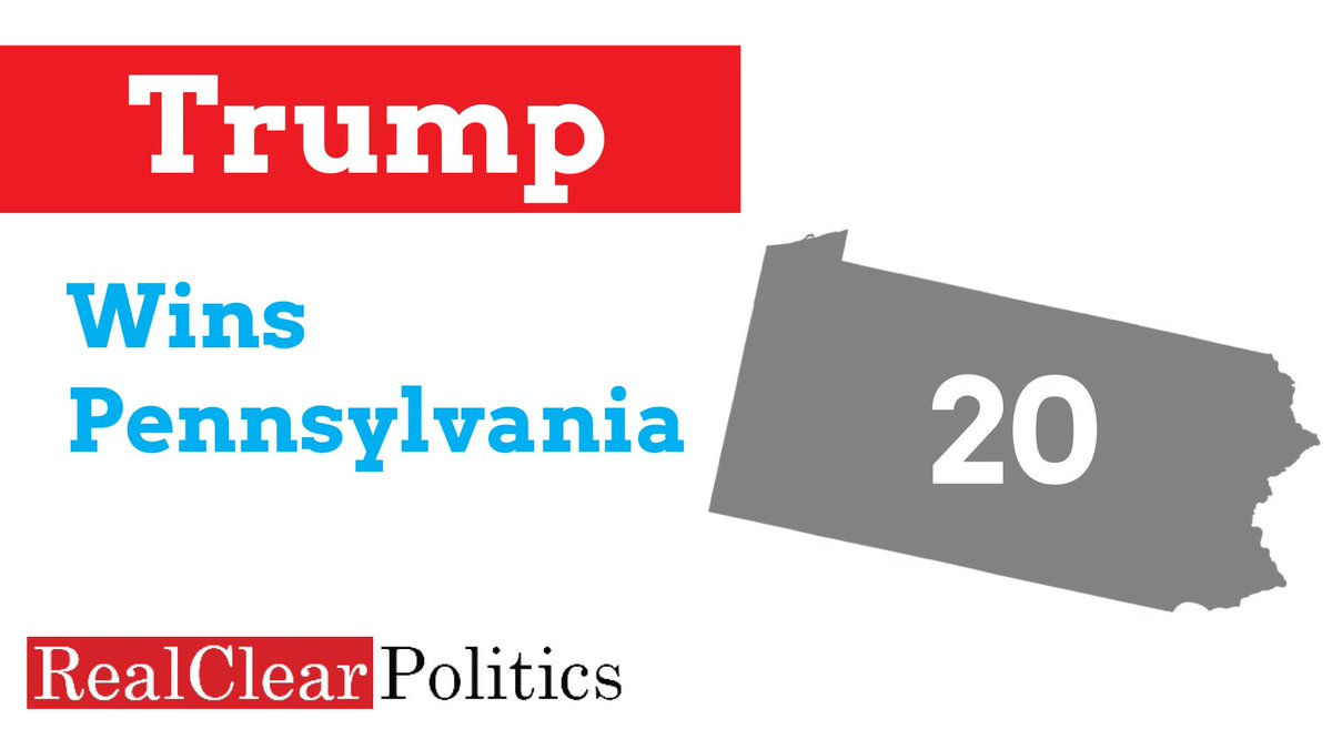 Trump takes Pennsylvania #ElectionNight https://t.co/HaYBudocYn