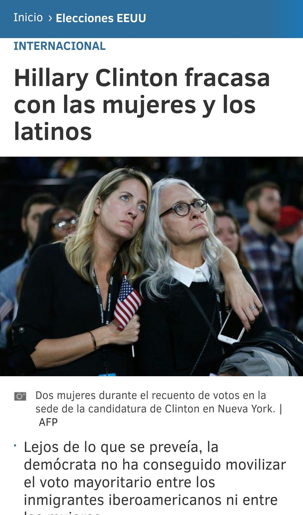 Cuando las mujeres y los latinos apoyan a un machista y racista es momento de hacer autocrítica. https://t.co/ejreubZeRw