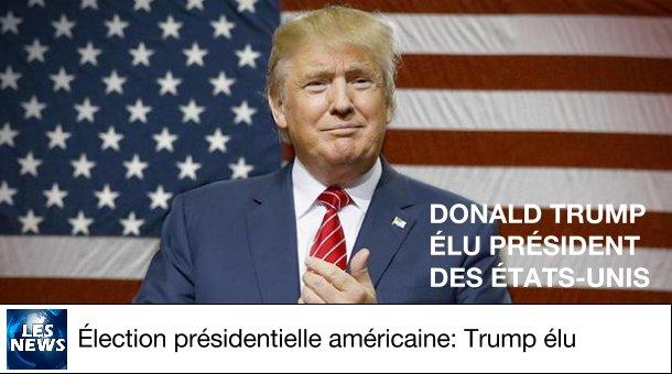 FLASH - DONALD #TRUMP NOUVEAU PRÉSIDENT DES ÉTATS-UNIS #ELECTIONNIGHT