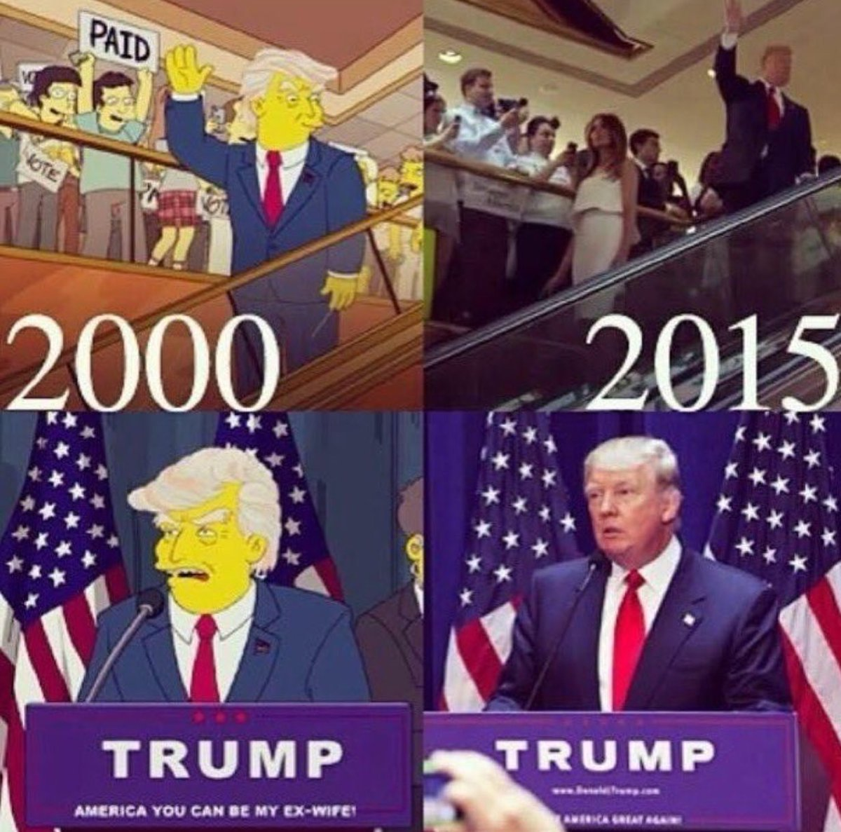 The Simpsons called it ... Again