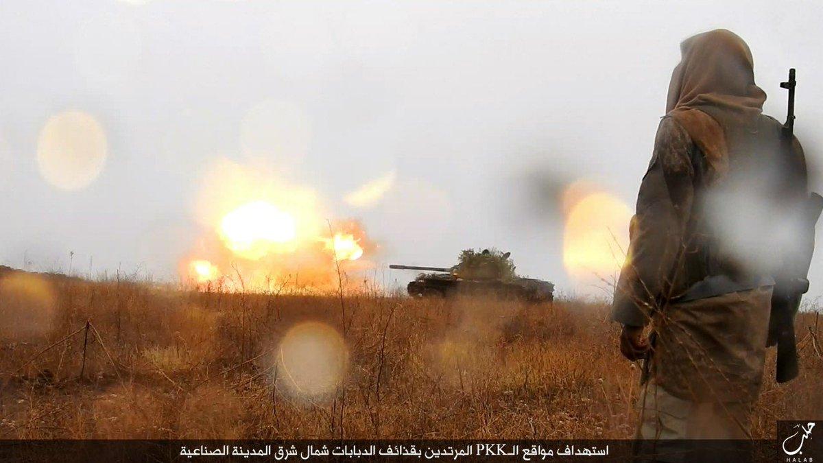 Мгновения войны в Сирии. Ноябрь 2016.