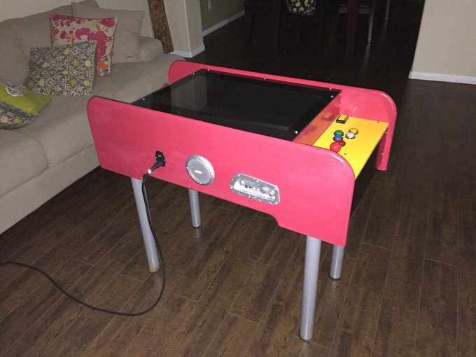 My Arcade Machine Project DIY