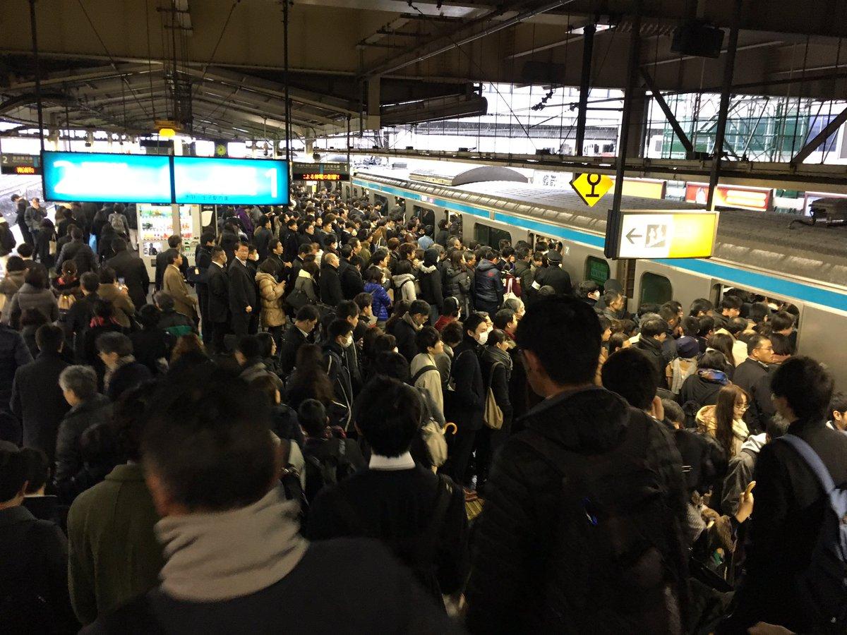 【現場情報】雪による混雑で京浜東北線 川口駅が入場規制で遅延 川口雪まつり開催?まとめのカテゴリ一覧まとめまとめについて関連サイト一覧