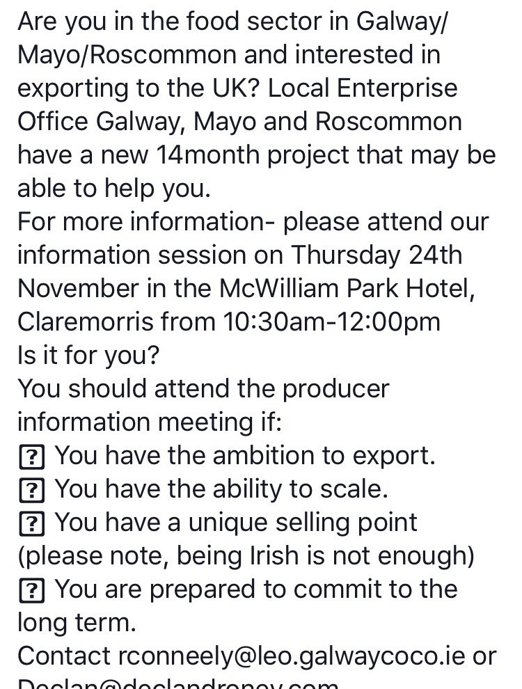 Self Reflection Essays Local Enterprise Office Galway On Twitter Reminder Tomorrow Am In  Mcwilliam Park Hotel Claremorris London Food Info Session Interested In  Export  Topics For Exemplification Essay also Essay Motivation Local Enterprise Office Galway On Twitter Reminder Tomorrow   Persusive Essay