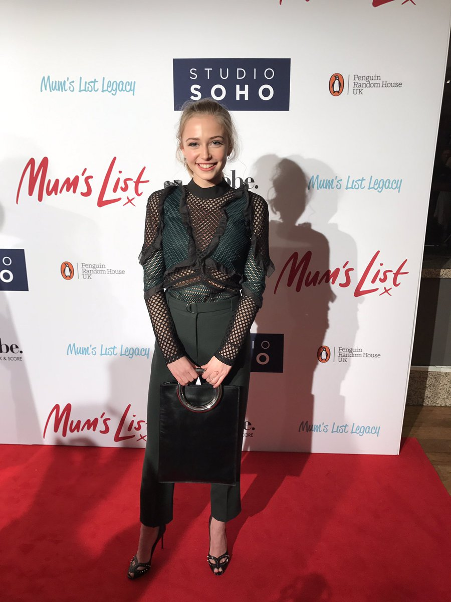 Delighted to be with @SophieSimnett at the #Mum'sList premiere