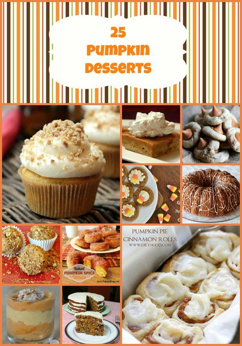 25 Pumpkin Dessert Recipes