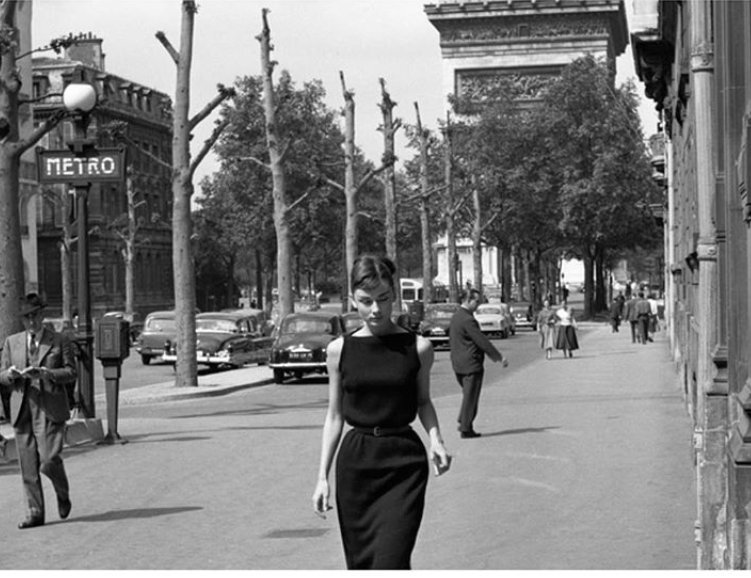 'Paris is always a good idea ' Audrey Hepburn in Paris , 1956
