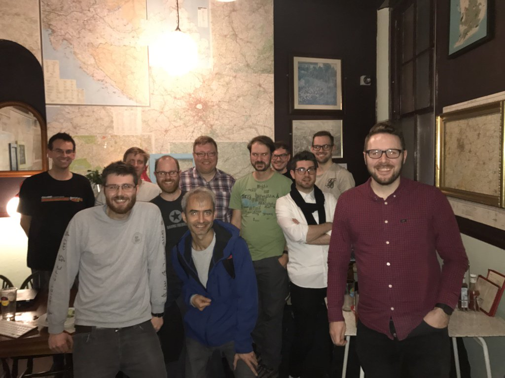 Homebrew Website Club Birmingham meetup participants